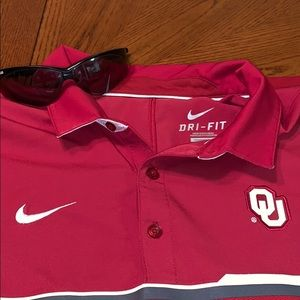 😎NIKE OU Dri- Fit Polo